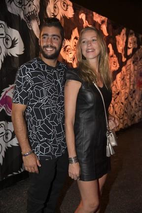 Pedro Scooby e Luana Piovani em festa no Rio (Foto: Felipe Panfili/ Divulgação)
