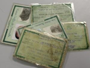 Dados foram apresentado pelo Instituto de Identificação (Foto: Andrezza Lifsitch/G1)