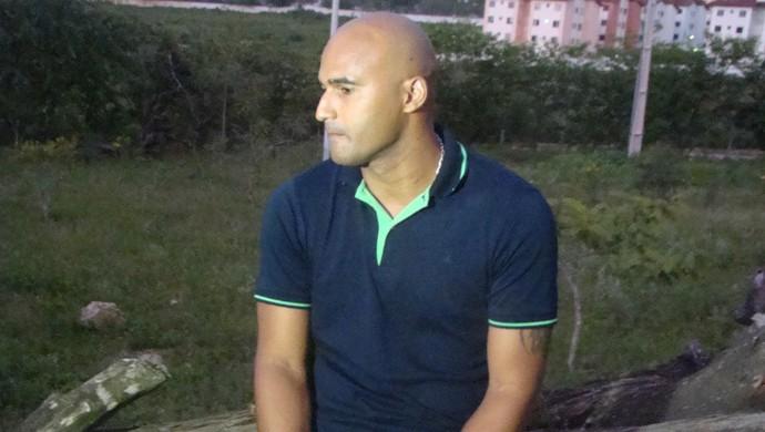Danilo goleiro malária (Foto: André Vinícius / GloboEsporte.com)
