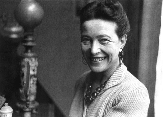 Simone de Beauvoir, escritora e filósofa francesa (Foto: Reprodução/Wikipédia)