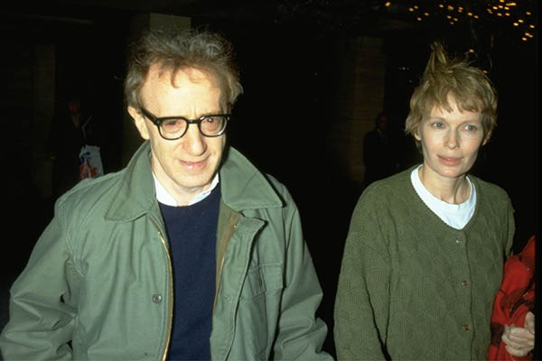 Woody Allen e Mia Farrow (Foto: Getty Images)