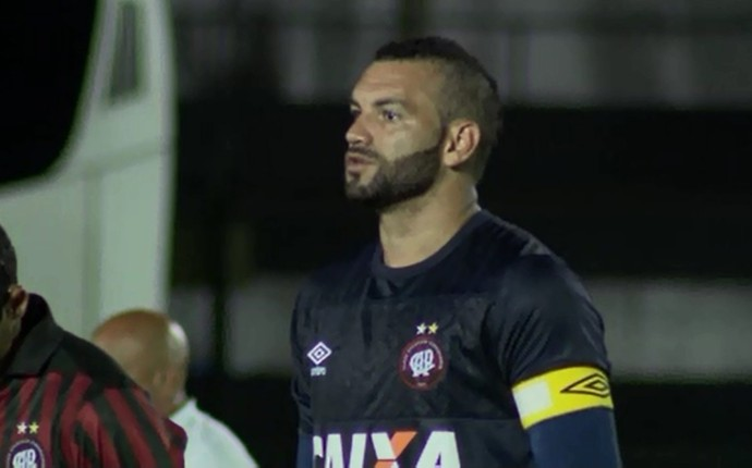 Goleiro Weverton Atlético-PR (Foto: Reprodução/RPC)