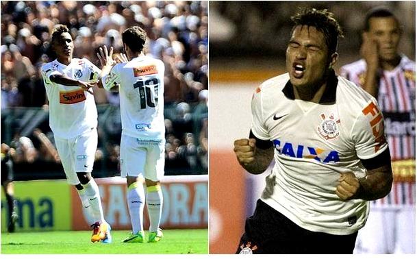 Santos e Corinthians se enfretam na quarta rodada do Campeonato Paulista (Foto: Reprodução/ globoesporte.com/Agência Corinthians)