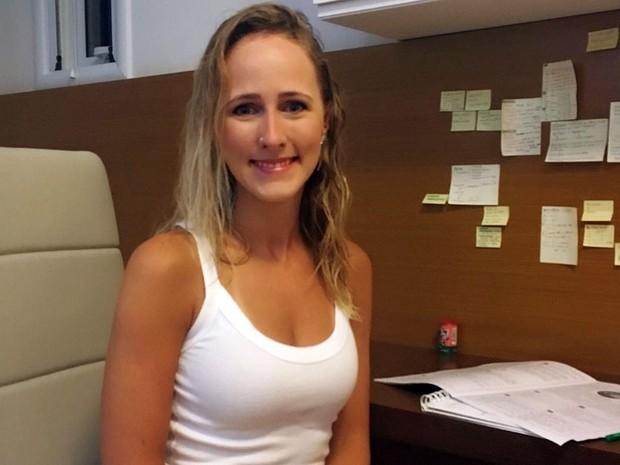 Tatiana Turcato quer entrar na Faculdade de Ciências Médicas (Foto: Tatiana Turcato/arquivo pessoal)