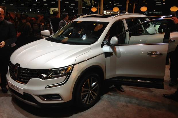 Renault Koleos virá apenas na versão top Intens 2.5  (Foto: Julio Cabral/Autoesporte)