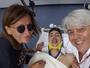 Após acidente, italiano posta foto no hospital e ganha mensagem de Alonso