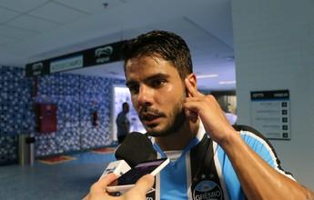 Henrique fica no quase em estreia sem ritmo, mas prevê evolução no Grêmio