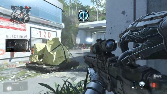 Call of Duty: Advanced Warfare: como jogar o modo exclusivo para snipers (Foto: Reprodução/Murilo Molina)