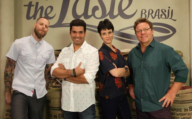 The Taste Brasil - mentores (Foto: gnt/divulgao)