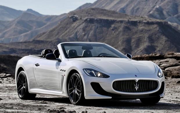 Maserati GranCabrio MC foi apresentado nesta segunda-feira (24) (Foto: Divulgação)