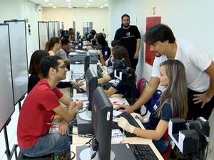 Biometria Vitória Espírito Santo (Foto: Reprodução/ TV Gazeta)