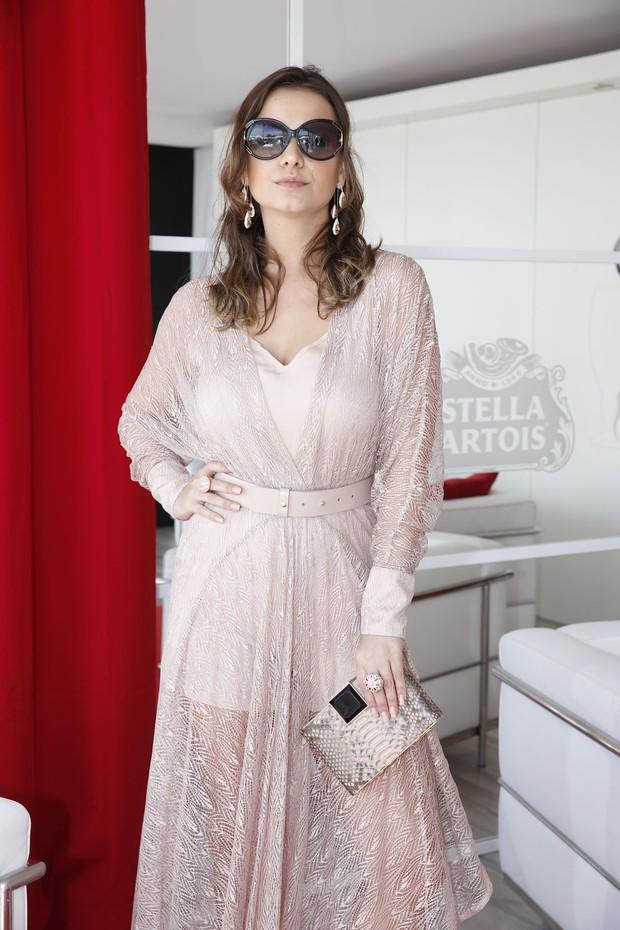 Milena Toscano em Cannes (Foto: Felipe Panfili / AgNews)