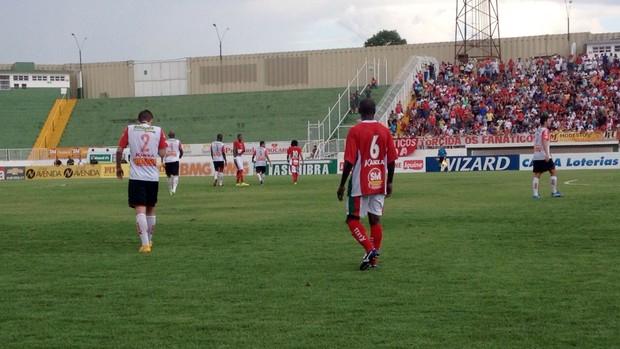Boa Esporte x Oeste - Série B Brasileiro 2014 (Foto: Brenno Beretta / EPTV)