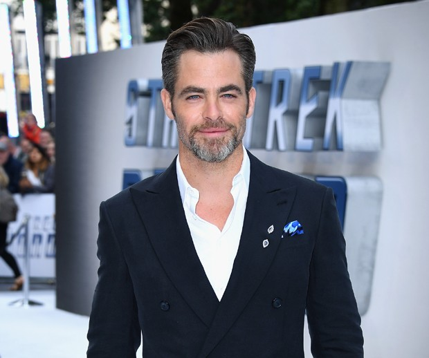 Chris Pine: charme aos 35 (Foto: Getty Images)