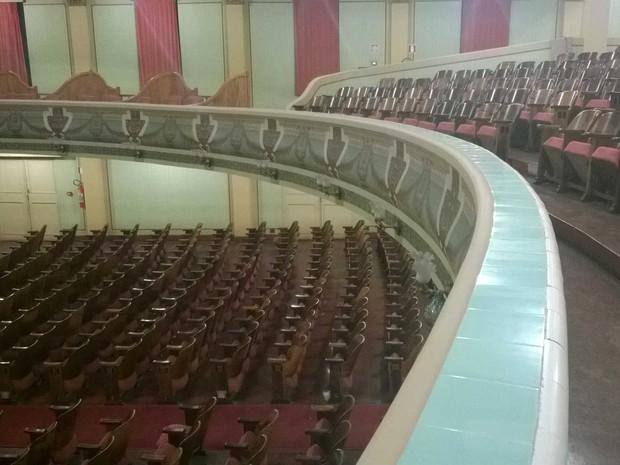 Cine-Theatro Central após restauro 14 (Foto: Roberta Oliveira/ G1)