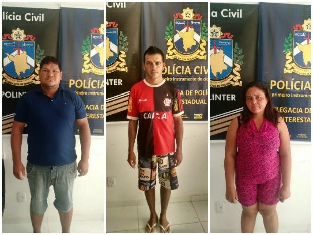 Acusados foram presos em diferentes bairros da zona Oeste de Boa Vista (Foto: Divulgação/Polinter)