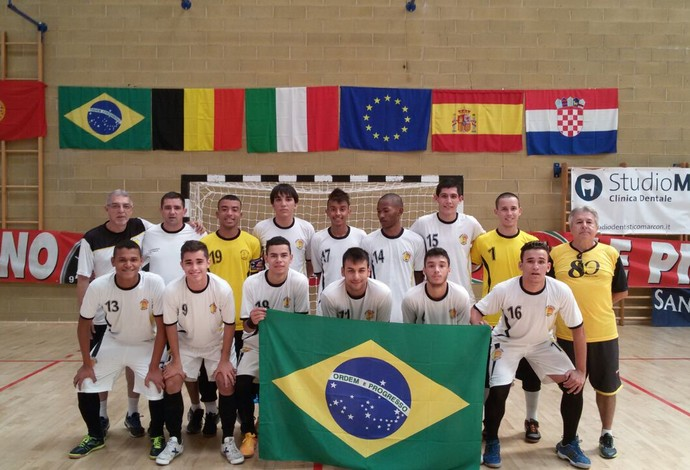 Futsal Sub-18 Praia Clube Uberlândia (Foto: Praia Clube/Divulgação)