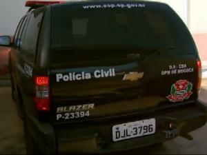 Prisão mãe suspeita de matar filha em Matão (Foto: Reprodução/EPTV)