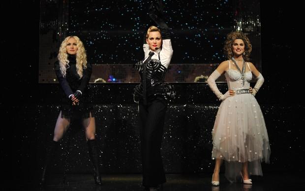 Madonna ganha estátuas de cera  (Foto: CARL COURT / AFP)