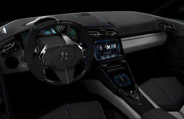 W Motors Lykan Hypersport Inteior (Foto: Divulgação)
