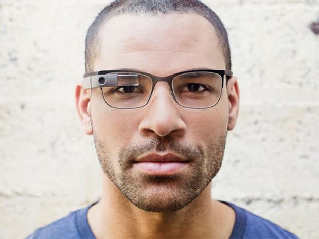 57599ab0f3673 Novo visual do Google Glass se aproxima mais dos óculos convencionais  (Foto  Reprodução