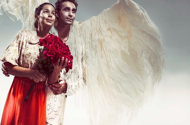 Joelma Di Palma e Angelo Mayerhofer vivem os personagens do espetáculo (Foto: Divulgação)