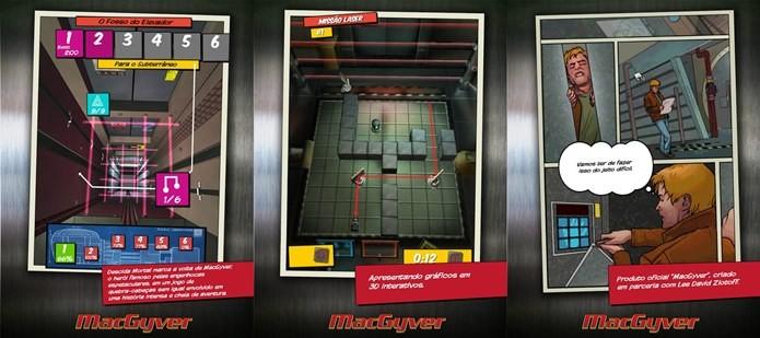 Macgyver, heróis dos anos 80 e meme das gambiarras retorna em um jogo que é puro raciocínio (Foto: Divulgação)
