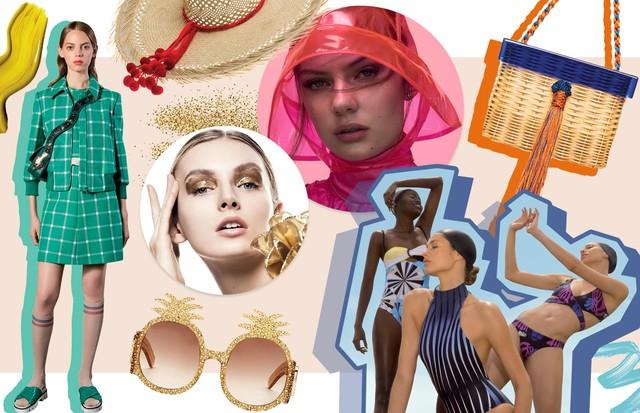 Verão de A a Z: dicas espertas para arrasar na estação quente  (Foto: Reprodução, Divulgação e Arquivo Vogue)