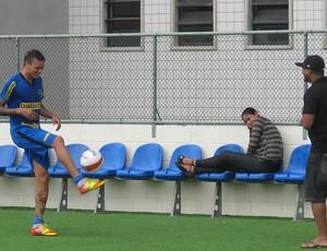 Fabio ferreira  botafogo (Foto: Thales Soares/GLOBOESPORTE.COM)