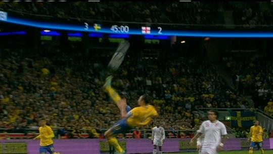 Ibrahimovic vai ganhar estátua do lado de fora do Estádio Nacional na Suécia