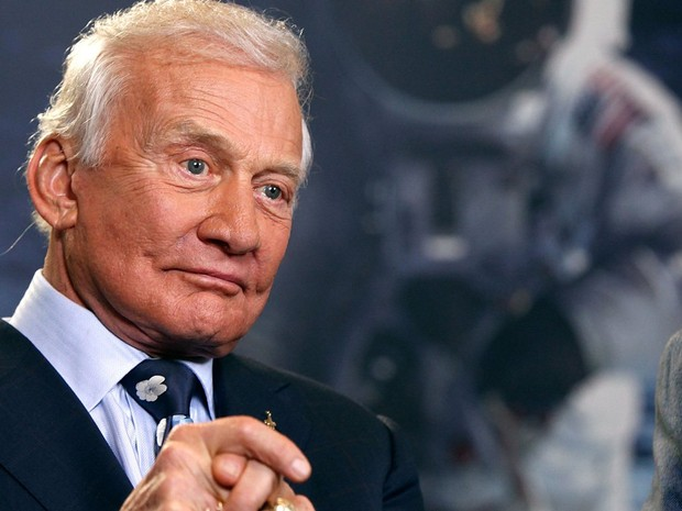 Buzz Aldrin - astronauta quer popular Marte (Foto: Getty Images)