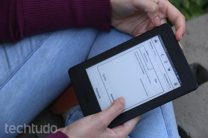 Kindle 6 (Foto: Maria Clara Pestre/TechTudo)