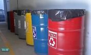 Bom exemplo de descarte correto de resíduos químicos (Divulgação)