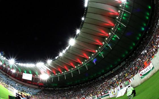 Fluminense no Maracanã (Foto: Nelson Perez / Fluminense)
