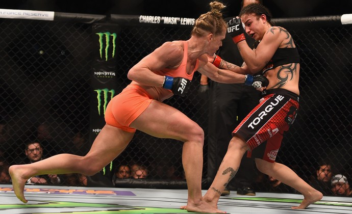 Holly Holm Raquel Pennington UFC 184 (Foto: Getty Images)