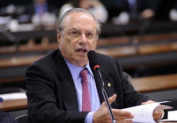 O ex-governador e deputado federal Paulo Maluf (PP-SP) (Foto: Janine Moraes/Agência Câmara)
