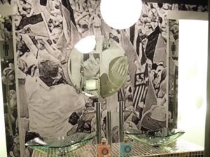 Centenário do Santos FC é usado como inspiração em vários ambientes (Foto: Divulgação/Santos Arquidecor)