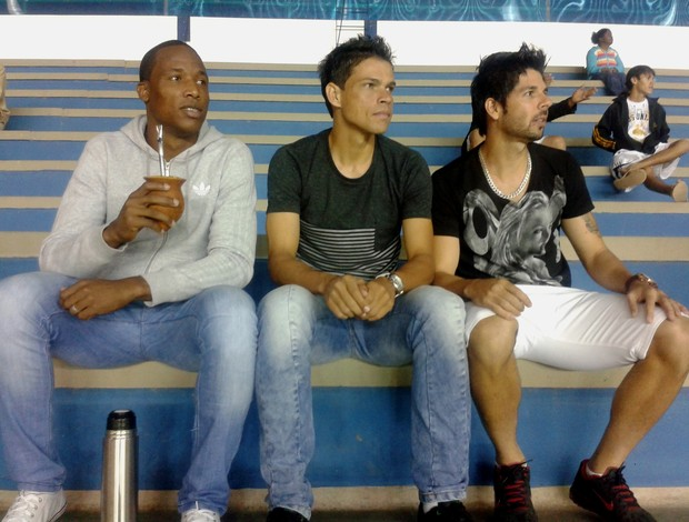 William, Gedeil e Marco Goiano (Foto: Júnior Costa/GE)