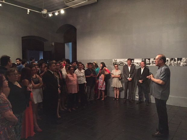 Salão Arte Pará (Foto: Natália Mello/G1)