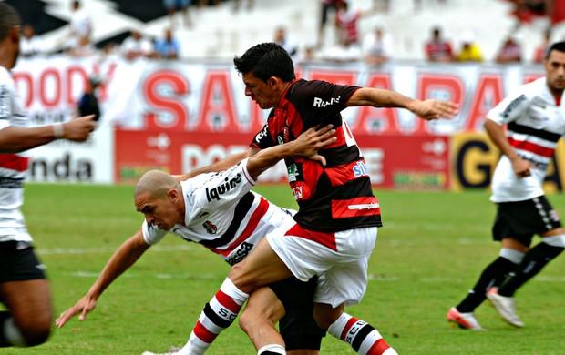 Santa Cruzx x Guarany de Sobral-CE (Foto: Aldo Carneiro/Pernambuco Press)
