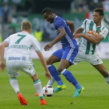 Joelinton Rapid Viena x Chelsea (Foto: Reuters)