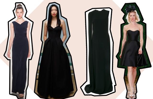 Vestidos de festa: 15 looks pretos atemporais para convidadas (Foto: ImaxTree e Divulgação)