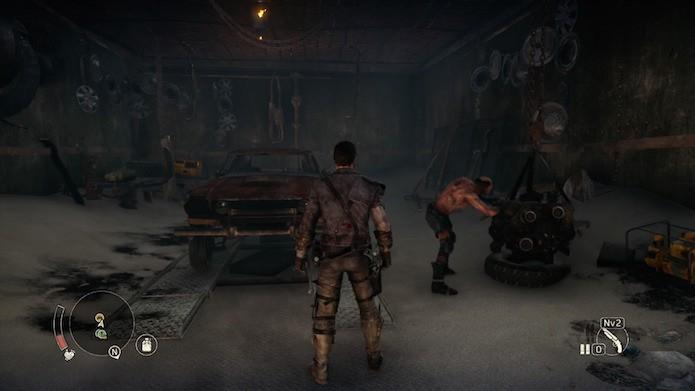 Mad Max: sistema de personalização automotivo é um dos aspectos mais interessantes do game (Foto: Reprodução/Victor Teixeira)