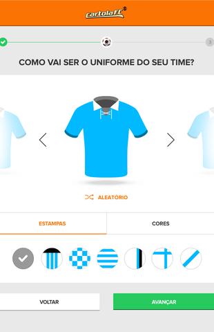 tela cartola camisa (Foto: GloboEsporte.com)