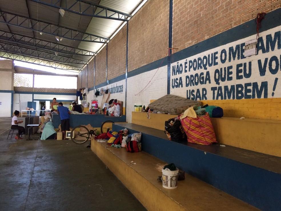 Abrigo fica na zona Oeste de Boa Vista (Foto: Emily Costa/G1 RR)