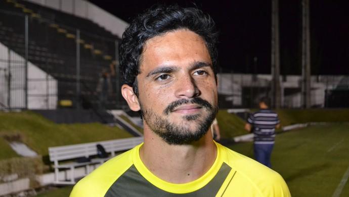 Deyvid Sacconi - meia do ABC (Foto: Jocaff Souza/GloboEsporte.com)