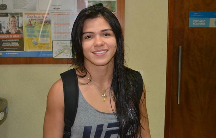 Claudia Gadelha UFC MMA (Foto: Raphael Marinho)