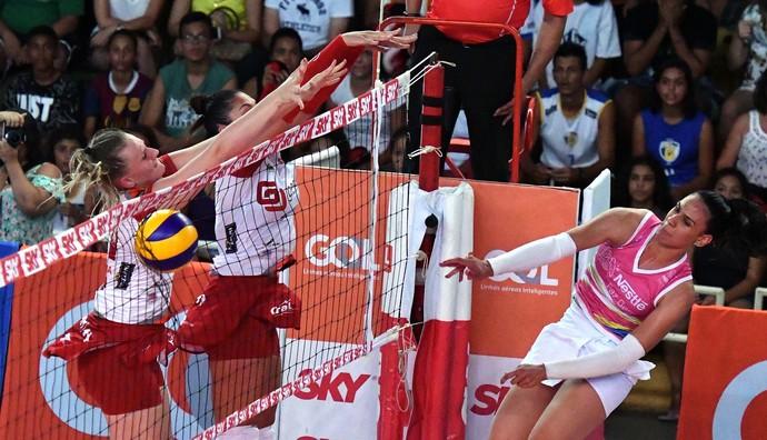 Vôlei Bauru x Osasco, Superliga feminina, Paula (Foto: João Pires / Fotojump)