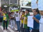 Manifestações de apoio e contra Lula e Dilma são realizadas em Manaus