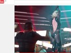 Roupa de Britney Spears abre em show em Las Vegas; veja vídeo